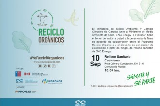 Cerimónia ENC Energy - Chile