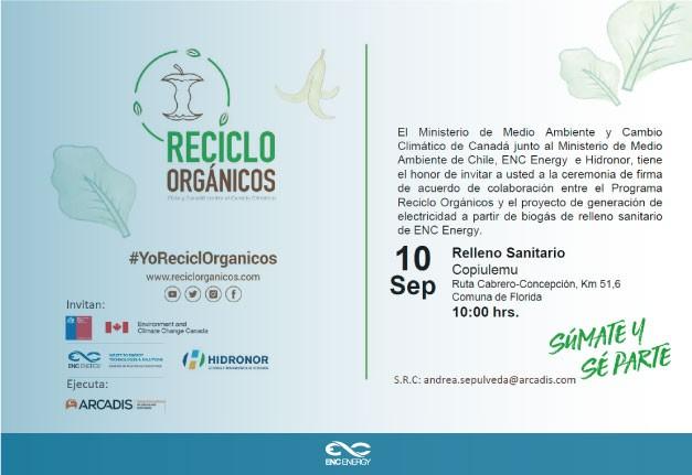 Cérémonie ENC Energy - Chili