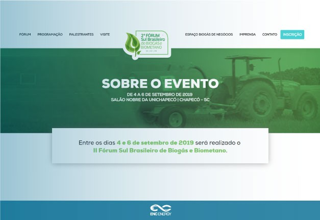 ENC Energy supports the 2nd South Brazilian Biogas and Biomethane Forum